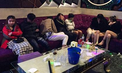47 người phê ma túy trong 5 phòng hát karaoke