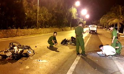 Xe máy đối đầu, 2 người tử vong, 1 người bị thương nặng
