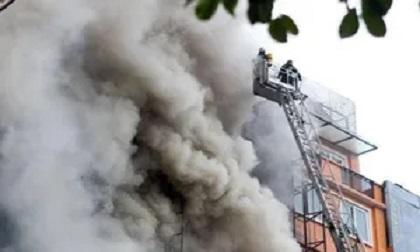 Cứu nữ công nhân ngạt khói trong đám cháy
