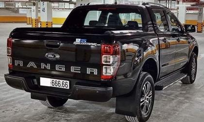 Bốc được biển '666.66', chủ nhân Ford Ranger rao bán xe với giá 2,6 tỷ đồng