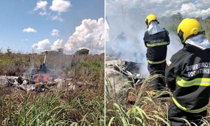 Rơi máy bay chở CLB hạng Tư Brazil khiến 6 người thiệt mạng