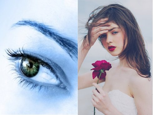 Phụ nữ mắt lá khoai tam bạch thường không đoan chính