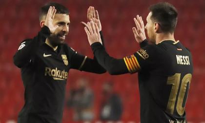 Barcelona 'chết hụt' ở tứ kết Cúp Nhà vua, HLV Koeman thót tim