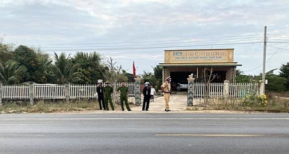 Cảnh sát chặn xe bắt phạm nhân vượt ngục từ Hải Phòng