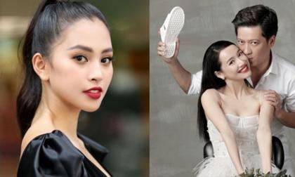 Hoa hậu Tiểu Vy khiến dân tình 'cười ngả nghiêng' với cách gọi 'chú Trường Giang - chị Nhã Phương'