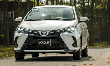 Toyota Vios 2021 giá từ 478 triệu đồng tại Việt Nam: Vua doanh số thêm bản mới đấu Honda City RS