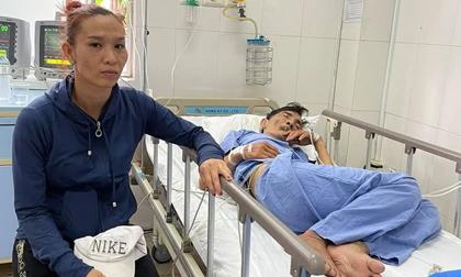 Phía bệnh viện tiết lộ tình trạng nguy kịch của Thương Tín, vợ nam diễn viên đã có mặt