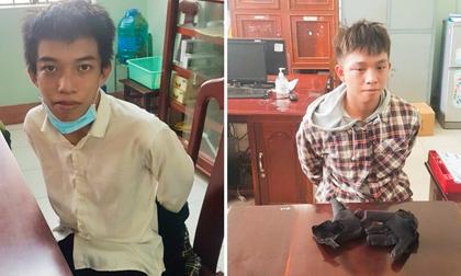 Người dân vây bắt 2 thanh niên cướp ngân hàng