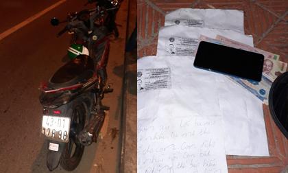 Tài xế xe ôm công nghệ nghi nhảy cầu tự tử, bỏ lại thư tuyệt mệnh: 'Con xin lỗi ba mẹ rất nhiều'