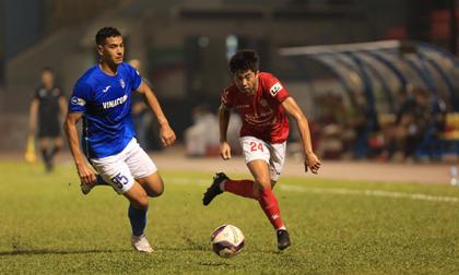 Lee Nguyễn im tiếng, TP HCM thua trên sân Quảng Ninh