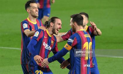 Hủy diệt đối phương bằng 2 siêu phẩm, Messi đưa Barcelona tiến gần điều kỳ diệu