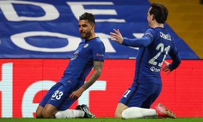 Vùi dập 'binh đoàn hắc ám', Chelsea hiên ngang bước vào tứ kết Champions League