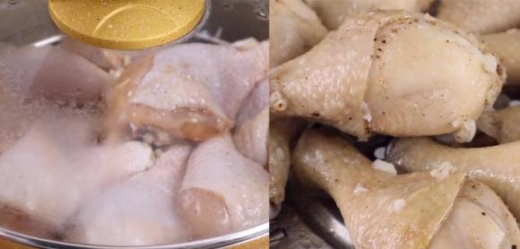 Làm đùi gà rán bằng nồi chiên không dầu