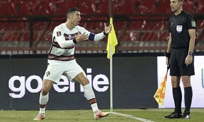Ronaldo bị 'cướp' công, Bồ Đào Nha ngậm ngùi chia điểm Serbia