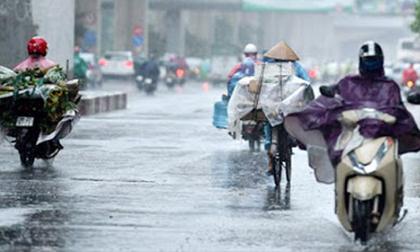 Miền Bắc đón không khí lạnh cuối mùa gây mưa dông diện rộng