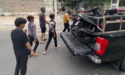 Bắt nhóm thiếu niên xăm trổ đầy người, chuyên trộm cắp xe máy