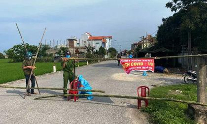 Hà Nam: Cách ly 28 ngày đối với thôn Quan Nhân có 5 người dương tính SARS-CoV-2