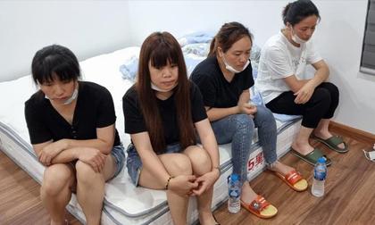 12 người Trung Quốc sống 'chui' ở Hà Đông liên quan đến vụ bắt 50 đối tượng ở Nam Từ Liêm