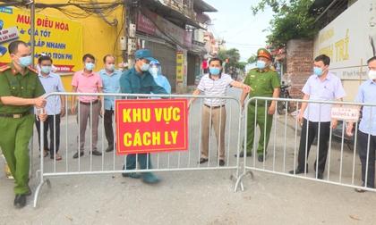 Bắc Giang: Thiết lập nhiều vùng cách ly y tế, cách ly xã hội ở 4 huyện, thành phố