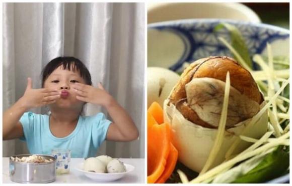 Trẻ dưới 5 tuổi không ăn trứng vịt lộn