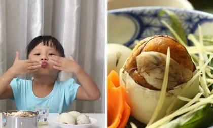 Chuyên gia cảnh báo: Không nên cho trẻ dưới 5 tuổi ăn trứng vịt lộn