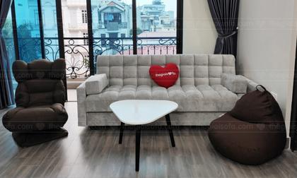 """Sofa hiện đại mở ra thành giường chỉ trong """"một nốt nhạc"""""""