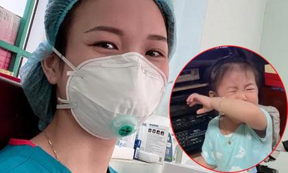 Xúc động chuyện nữ điều dưỡng 'lên tivi' khiến con nhìn thấy khóc ngặt: Mẹ đi Bắc Giang chống dịch, nghĩ đến con là sữa mẹ tràn về