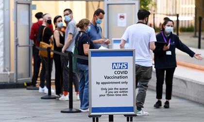 Quốc gia tiêm vắc xin cho hơn 75% người trưởng thành vừa ghi nhận số ca mắc COVID-19 cao nhất từ cuối tháng 3