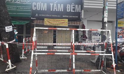 TP.HCM: Phong toả quán cơm tấm và khu Mả Lạng ở quận 1 vì 4 người trong gia đình mắc Covid-19