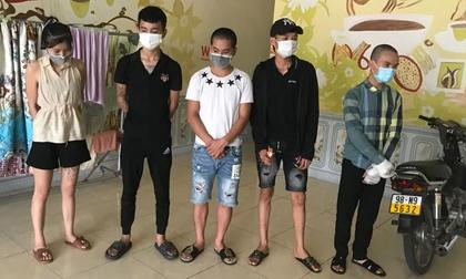 Bắc Giang: Nhóm 'nam thanh nữ tú' tụ tập sử dụng ma túy giữa mùa dịch COVID-19