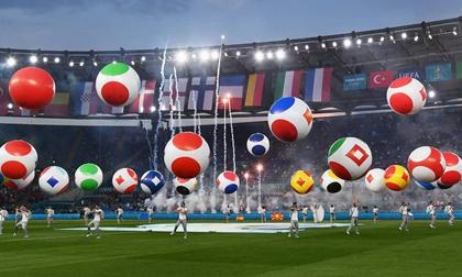 Mãn nhãn với lễ khai mạc Euro 2021: Bữa tiệc màu sắc đầy ấn tượng mang nhiều thông điệp ý nghĩa