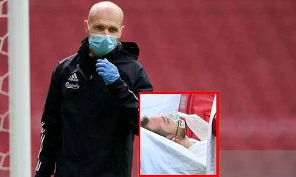 Bác sĩ trực tiếp cấp cứu cho Eriksen kể lại giây phút cầu thủ giành giật sự sống: '10 phút đáng sợ nhất tôi từng thấy trong một trận đấu'