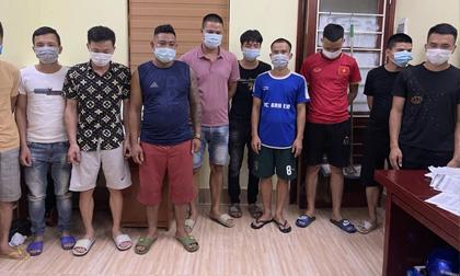 Bắc Giang: 10 thanh niên tụ tập đánh bạc bị đề nghị xử phạt 150 triệu đồng