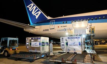 Gần 1 triệu liều vắc xin COVID-19 do Nhật Bản tặng đã về đến Việt Nam