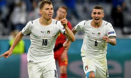 Ngầu như mafia, Italia cuồn cuộn cuốn bay 'Quỷ đỏ' bằng 90 phút chiến thắng để đời