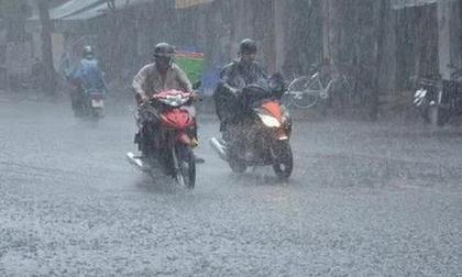 Sau nắng nóng miền Bắc đón đợt mưa dông lớn kéo dài nhiều ngày, vùng áp thấp vào biển Đông tiếp tục mạnh lên