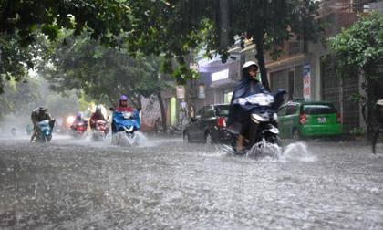 Áp thấp nhiệt đới hướng thẳng vào đất liền, miền Bắc mưa to đến rất to từ chiều nay