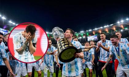 Bật khóc trong ngày đăng quang, Messi chiếm trọn mọi giải thưởng danh giá tại Copa America