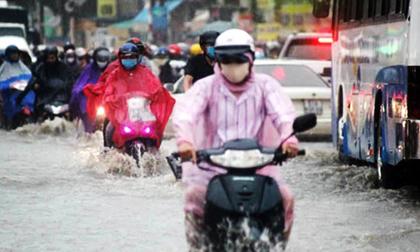 Bão số 3 khả năng đổi hướng vào vịnh Bắc Bộ, Hà Nội mưa lớn, một số nơi đề phòng gió giật mạnh