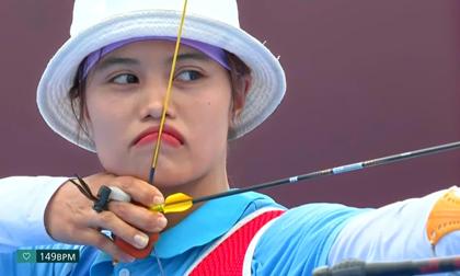 Mỹ nhân bắn cung Việt Nam thi đấu xuất thần, khiến cựu HCĐ Olympic suýt phải 'ôm hận'