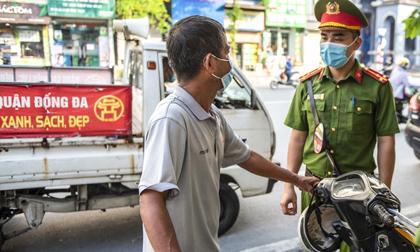 Số tiền xử phạt vi phạm hành chính 'khủng' sau hơn 1 tuần Hà Nội thực hiện giãn cách xã hội