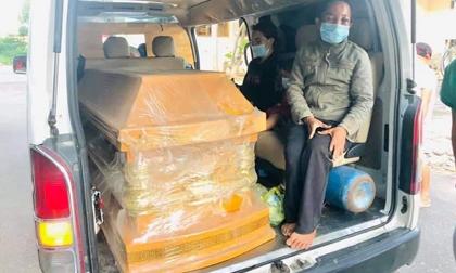 Đường về quê tránh dịch đầy tang thương và nước mắt của 5 người trong gia đình gặp nạn trên chiếc xe ba gác