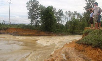 Hà Tĩnh: 3 em nhỏ đuối nước thương tâm dưới đập
