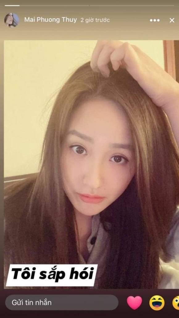 Mới 33 tuổi, Mai Phương Thúy đã gây 'choáng' với mái tóc bạc và còn 'rụng sắp hói'