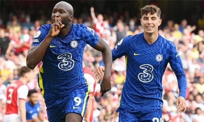Lukaku càn quét đối thủ trong ngày trở lại, Chelsea lạnh lùng 'nhấn chìm' Arsenal
