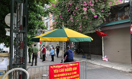 Hà Nội ghi nhận chùm ca bệnh mới tại phường Thanh Xuân Nam, Sở chỉ huy phòng, chống dịch của phường họp khẩn