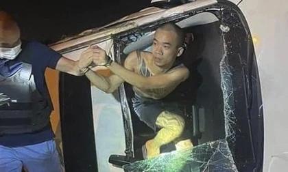 Thanh niên xăm trổ lái ô tô gây tai nạn rồi bỏ chạy dương tính ma tuý