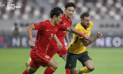Kết quả Australia vs Trung Quốc: Vỡ trận thảm thương, tuyển Trung Quốc ôm nỗi thất vọng tràn trề dưới đáy BXH