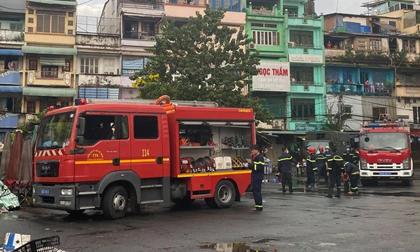 TP.HCM: Cháy căn hộ chung cư cũ, cụ bà 72 tuổi bị ngạt khói
