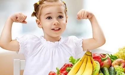 Cho trẻ ăn gì để tăng cường sức đề kháng, phòng tránh nhiễm khuẩn cực tốt